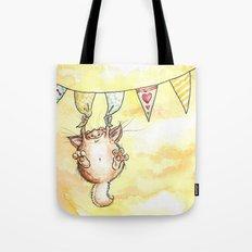 Happy Monster Tote Bag