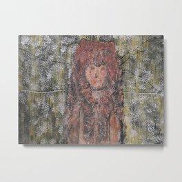 BEAR MEDICINE LEGEND Metal Print