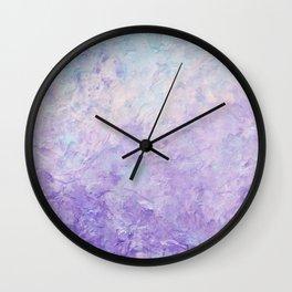 Plastered Memories  Wall Clock