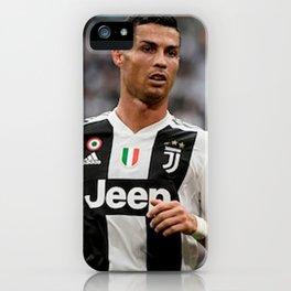 Cristian Ronaldo 7 iPhone Case