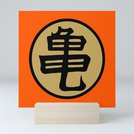 Kame kanji Mini Art Print