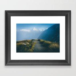 Routeburn Summit Framed Art Print
