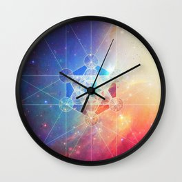 Box of the Universe Wall Clock