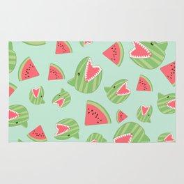 Watermelon Shark Rug
