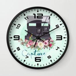 Capture moments #3 Wall Clock
