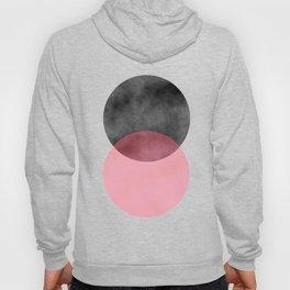 2 Minimal Circles Abstract Hoody