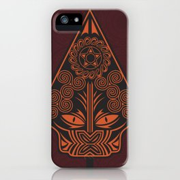 Wayang Red iPhone Case
