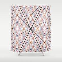 GS Geometric Abstrac 07A S6 Shower Curtain