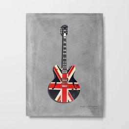 """Supernova """"Union Jack"""" Metal Print"""