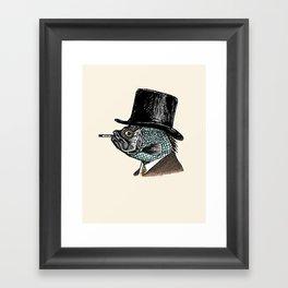 Mr. Fish Framed Art Print