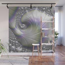 Fractal Art-Opalescent Shell Wall Mural