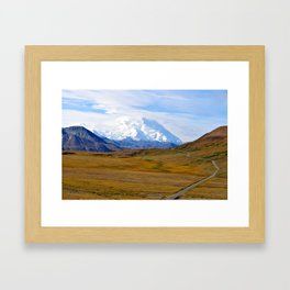 The Road to Denali Framed Art Print