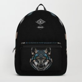 The Aware Wolf by Fieldinspired Backpack
