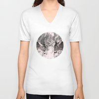 antler V-neck T-shirts featuring Antler by Studio Su