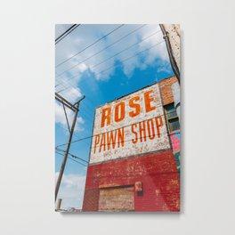 Downtown Tulsa V Metal Print