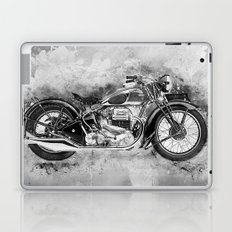 Vintage Motorcycle No2 Laptop & iPad Skin