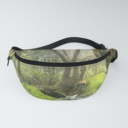 Paradise Path in Tradewinds Trail - El Yunque rainforest PR Fanny Pack