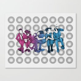 Young, Loud & Snotty Canvas Print