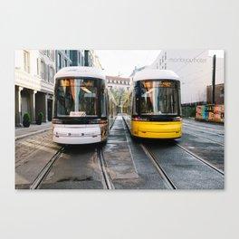 Street Cars Canvas Print