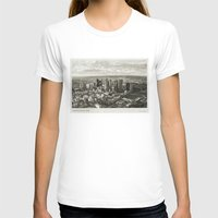 melbourne T-shirts featuring Melbourne City by Ewan Arnolda