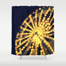 Last Night Shower Curtain