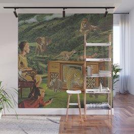 4K television Wall Mural