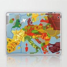 Abstract European Travel Map Laptop & iPad Skin