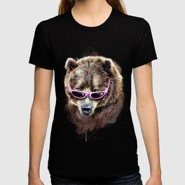 Cool shy bear T-shirt