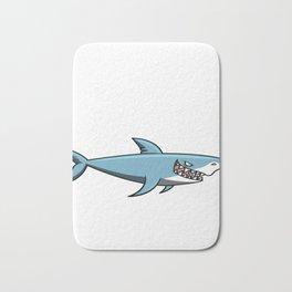 Daddy Shark Doo Doo T-shirt - Father's & Mothers Day Gift Bath Mat