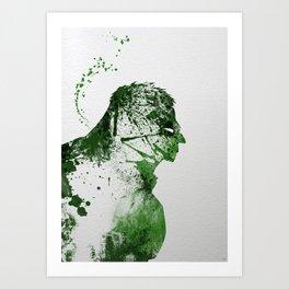 Irritated Art Print