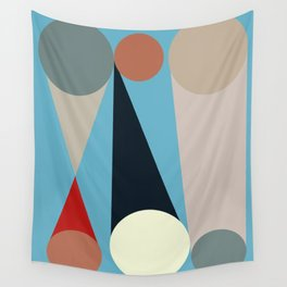 Mid Century Modern Vintage 15 Wall Tapestry