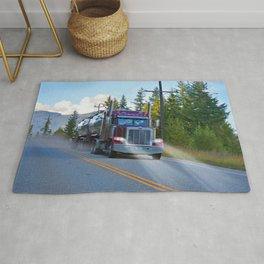 Trans Canada Trucker Rug