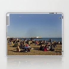 Busy Brighton Beach Laptop & iPad Skin