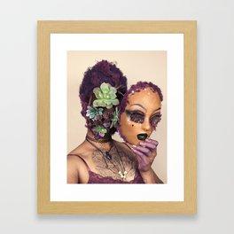 Succulent Spirit Framed Art Print