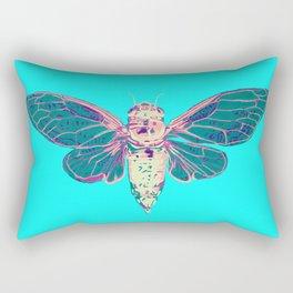 Flying Cicada Rectangular Pillow