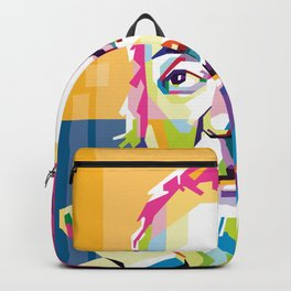 Galileo in Pop Art Portrait Backpack