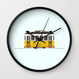 Lisbon 28 Tram Wall Clock