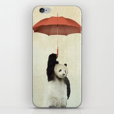 Pandachute iPhone Skin