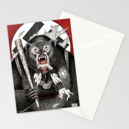 Inglourious Basterds (Quentin Tarantino) The Bear Jew Stationery Cards