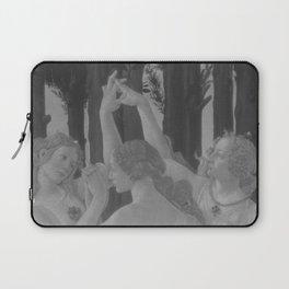 Black White Primavera Laptop Sleeve