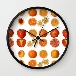 Fruit Attack Wall Clock