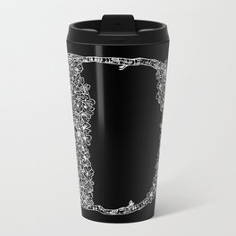 Cherry Blossom D Metal Travel Mug