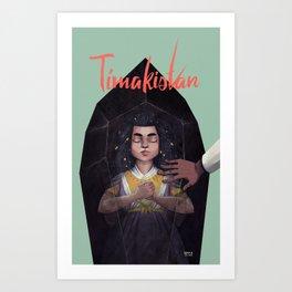 Tímakistan Art Print