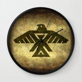 Thunderbird doodem Wall Clock