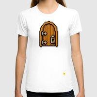 door T-shirts featuring Door by HOVERFLYdesign