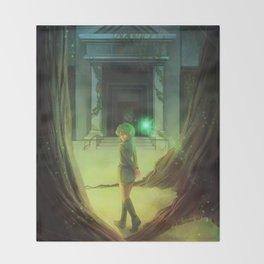Zelda: Saria Throw Blanket