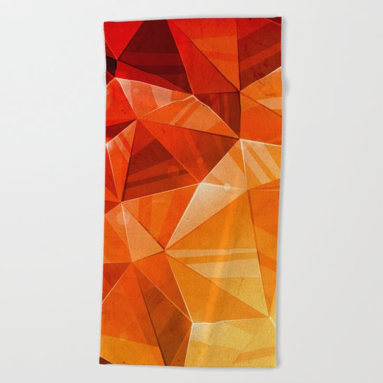 Tricolor Beach Towel
