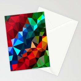 Geometric elements Stationery Cards