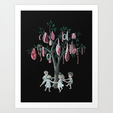 The Meat Tree Art Print