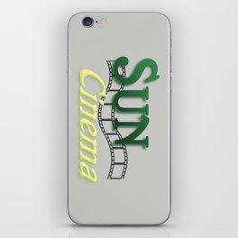Sun Cinema iPhone Skin